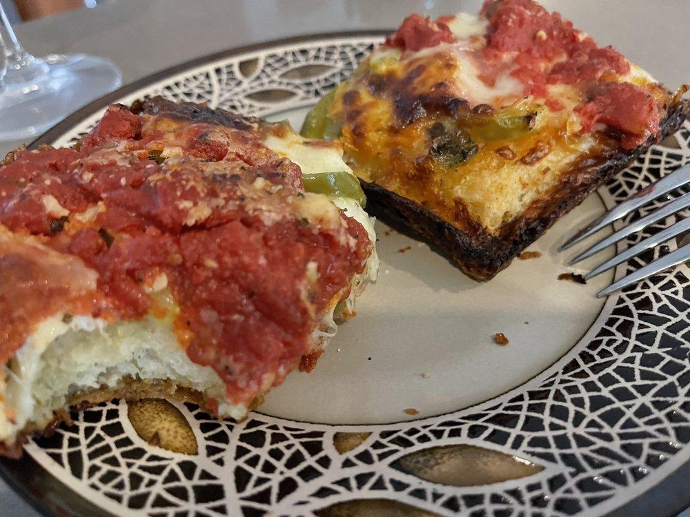 Detroit Gluten Free Pan Pizza
